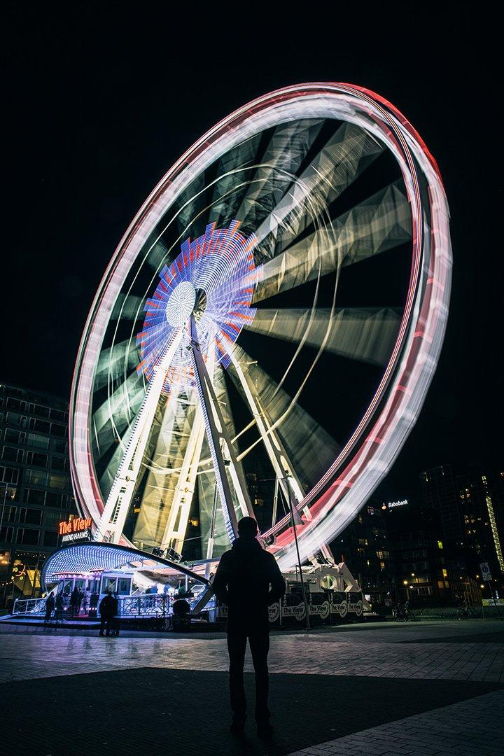 Rotterdam ferris wheel